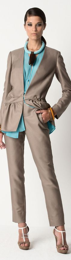 Trendy suit - nice picture