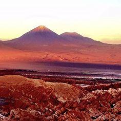 The Color Purple - Atacama, Chile Mount Rainier, Chile, Mountains, Purple, Nature, Travel, Color, Naturaleza, Viajes
