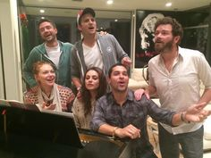 """""""Hangin' out, down the street…"""" - Topher Grace on Twitter, reuniting with the gang from That 70s Show."""