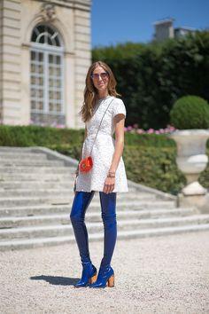 Chiara Ferragni in Dior   - HarpersBAZAAR.com