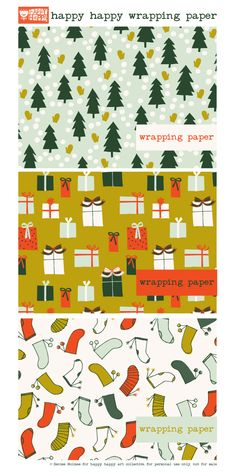 News — denise holmes illustration Christmas Crafts For Gifts, Christmas Paper, Christmas Wrapping, Craft Gifts, Mini Albums, Free Poster Printables, Free Christmas Printables, Happy Art, Merry And Bright