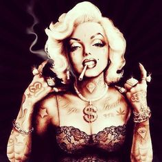 - Smoking Weed ! That's DOPE ! ILoveeHer !