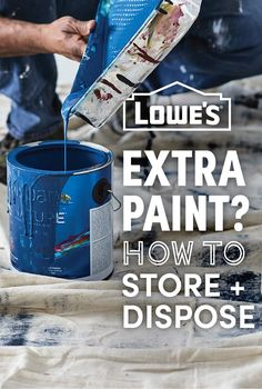 Do you want to ensure your paint is properly stored so that it's usable later? Have paint cans that you need to get rid of, but you don't know how? Here's how to safely store and dispose of your paint.