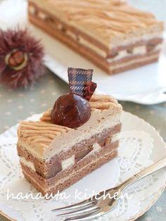モンブラン風マロンケーキ by flan* [クックパッド] 簡単おいしいみんなのレシピが137万品