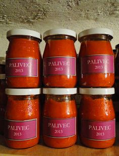 kudy-kam: Palivec Meals In A Jar, Yams, Aesthetic Food, Chutney, Preserves, Pesto, Smoothie, Food And Drink, Healthy Recipes