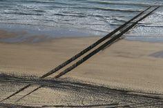Wave-breaker from above, Zoutelande
