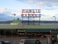 Seattle, Natalie currently working here. Pike Street Fish Market.