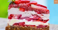 Raw Vegan Strawberry Shortcake; The host is a bit challenging to listen to, but this does look like a pretty tasty treat with no added sugar, fat, flour or dairy. I personally don't care about the vegan part...just nice to find a tasty looking recipe