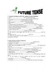 Grade 8 Grammar Lesson 12 The simple future tense (I