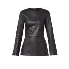Leather Top By Malene Birger Sonasah