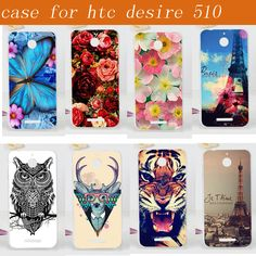 14 Patterns For HTC Desire 510 Phone Cases, Hard Plastic Fashion Painting Protective Back Cover for HTC Desire 510 Case Cover