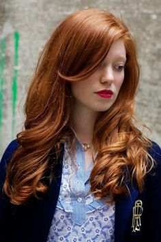 red hair color shades for medium skin tone