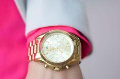 #MK #WATCH #GOLD