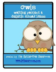 Here are some writing activities that focus around the theme of owls; they also have bulletin board ideas to play into thematic teaching in one's classroom. Owl Theme Classroom, Future Classroom, Classroom Ideas, Classroom Organization, Classroom Management, Organizing, Owl Writing, Writing Ideas, Writing Activities