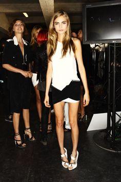 cara at new york fashion week