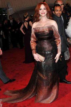 Christina Hendricks' Style File