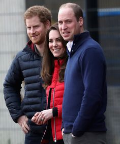 Prince William Duke Of Cambridge And Catherine Duchess Of Cambridge And Prince Harry Join