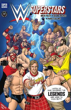 The ultimate WWE crossover! WWE Superstars of today and WWE Legends of the past engage in insane battles across the WWE Universe. From Daniel Bryan to Stone Cold Steve Austin, from Hulk Hogan to John