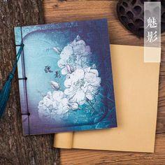 古风本子空白中国风日记本复古笔记本文具本子小清新大学生手帐本