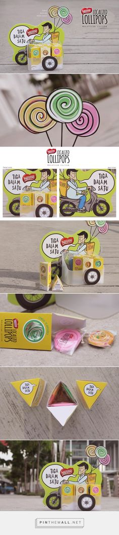 Lollipop Packaging and Standee on Behance... - a grouped images picture - Pin Them All