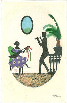 """Allegro"", Marte Graf, um 1920,"
