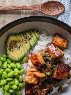 Healthy Meal Prep, Healthy Dinner Recipes, Healthy Snacks, Vegetarian Recipes, Cooking Recipes, Pescatarian Recipes, Diet Recipes, Sushi Recipes, Healthy Lunches