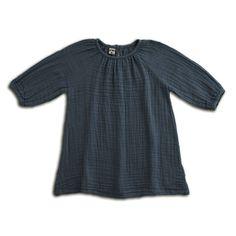 Robe Nina - bleu gris Taille S (1-2 ans) NUMERO 74