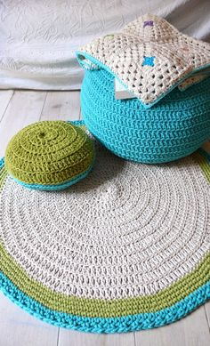 Crochet Inspiration - Rugs