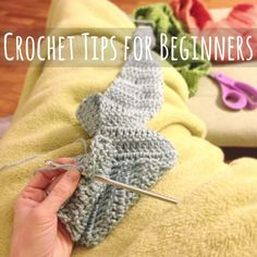 #Crochet Tips for Beginners makeandtakes.com @MakeandTakes.com