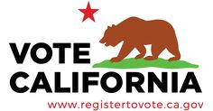 Information on how to register to vote in California #StillSanders