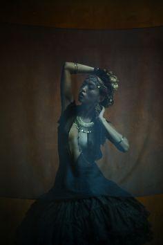 darkbeautymag:  Photographer: Edward IsaisModel: Angel Lin - Angel My Darling