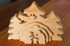 scroll saw nativity - Google Search