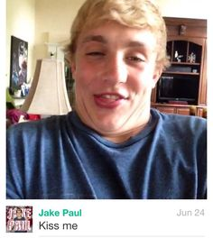 JAKE PAUL IS SO CUTE I WANT TO HAVE HIS BABIES