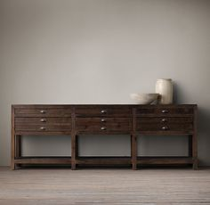 Printmaker 39 s 80 console pinterest tables hardware and the o 39 jays - Restoration hardware entry table ...