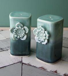 Porcelain Salt & Pepper Set