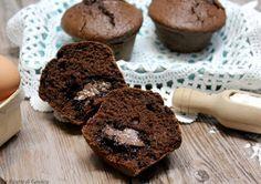Muffin al cioccolato e Nutella - anche Bimby e Videoricetta