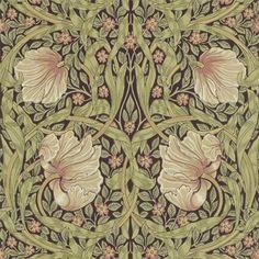 Pimpernel tapeter från William Morris® (WM143-01) hos Engelska Tapetmagasinet. ✓ Beställ fraktfritt online ✓ Snabb leverans