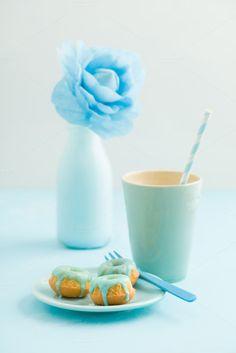 Mini bundt cakes by foodphotolove on Creative Market