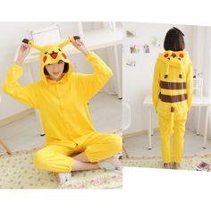 Pikachu Cheap Onesies Kigurumi Sleep Suit Huispak