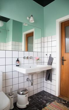 Advice, methods, along with quick guide with respect to receiving the very best outcome and making the maximum usage of Upstairs Bathroom Remodel Retro Bathrooms, Upstairs Bathrooms, Small Bathroom, White Bathroom, Master Bathroom, Bathroom Inspo, Bathroom Inspiration, Bathroom Interior, Bathroom Layout
