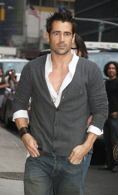 Colin Farrell, yes please..the fact he is a bad boy only makes him more attractive..