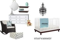 """Baby Room (girl)"" by tayvanwey on Polyvore"