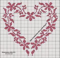 Хобби женская работа - вышивка - вязание крючком - вязание: орнаменты для вышивки