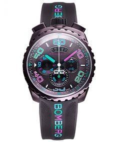 ボンバーグ BOLT-68 クロマ アイスブラウン BS45CHPBR.049-3.3 クォーツ クロノグラフ 腕時計 メンズ BOMBERG CHROMA BROWN ICE - IDEAL