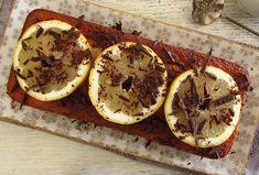 Bolo de limão e chocolate | Food From Portugal