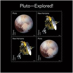 Postal Service Honors NASA Planetary Discoveries With 2016 Stamps Pluto Explored NASAs New Horizons