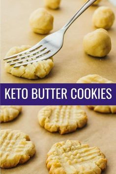 Low carb butter cookies with almond flour. keto / low carb / diet / atkins / induction / meals / recipes / easy / dinner / lunch / foods / healthy / gluten free / paleo / christmas / shortbread / danish / recipe / 3 ingredient / simple / dutch / ketogenic / best / homemade / healthy / eggless / vanilla / classic / holiday / no egg / flourless / #keto #cookies #christmas #lowcarb #healthy #dessert