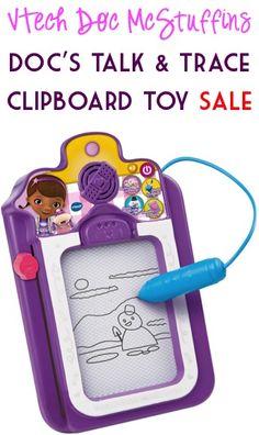 VTech Doc McStuffins Doc's Talk and Trace Clipboard Toy Sale: $12.50!