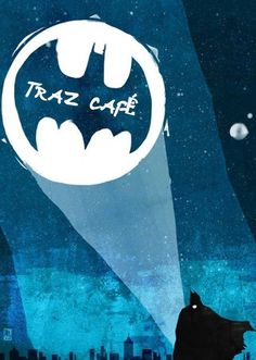 Batman needs some caffeine. - Batman Funny - Ideas of Batman Funny - Happy Halloween! Batman needs some caffeine.