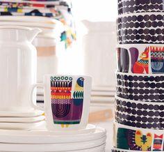 I want this Kukkuluuruu- mug, designed by Sanna Annukka!